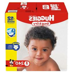 Huggies Snug & Dry Baby Diapers Size 1, 2, 3, 4, 5, 6. Fast