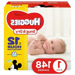 HUGGIES Snug & Dry Disposable Diapers Size 1  *Free 2 day sh