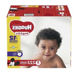HUGGIES Snug & Dry Diapers, Size 3, for 16-28 lbs, One Month