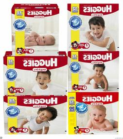 Huggies Snug and Dry Disposable Baby Diapers Size 1, 2, 3, 4