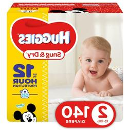 HUGGIES Snug & Dry Disposable Diapers Size 2  *Free 2 day sh