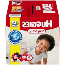 HUGGIES Snug & Dry Disposable Diapers Size 5  *Free 2 day sh