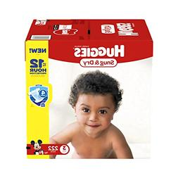 HUGGIES Snug & Dry Diapers Size 3 for 16-28 lbs. One Month S