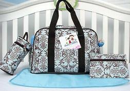 SoHo Diaper Bag Tote, Capire, 4 Piece Set