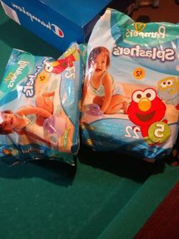Pampers Splashers Kids Swim Diaper Disposable Swimming Pant