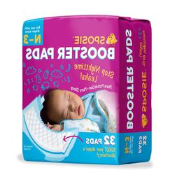 Sposie Overnight Baby Diaper Booster Pads Doublers for Newbo
