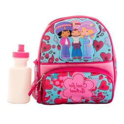 Strawberry Shortcake Girls Lunch Box Backpack Book Bag w Wat