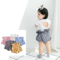 Summer girls clothes Diaper Cover for baby new cotton ruffle