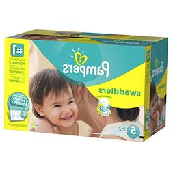 Pampers Swaddlers Diapers, Size 5, One Month Supply, 152 Cou