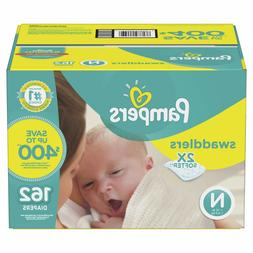 Pampers, Swaddlers Diapers in BULK  Newborn Size 1 2 3 4 5 6