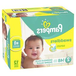 Pampers Swaddlers Diapers Size 2 148 Count