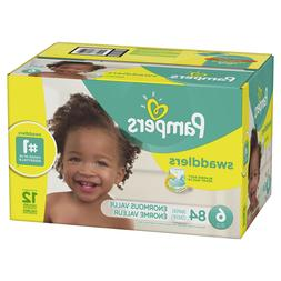 swaddlers diapers size 6 84 count
