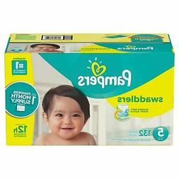 Pampers Swaddlers Disposable Baby Diapers Size 5, 132 Count,