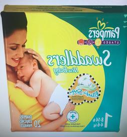 Pampers swaddlers size 1, 240 count