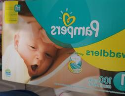 Pampers Swaddlers Size 1 Diapers 100 count