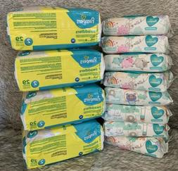Pampers Swaddlers Size 2 & Sensitive Wipes Diaper Bundle
