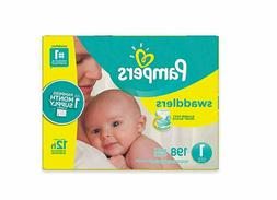 Pampers Swaddlers Size Newborn/1/2/3/4 Pack Diapers - Super-