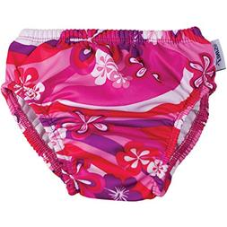 Swim Diaper - Flower Power 3T, New, Free Shipping