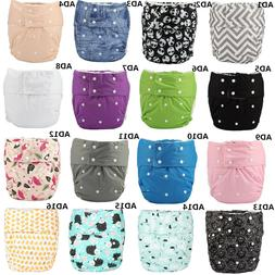 Teen Adult Cloth Diaper Nappy Reusable Washable Inserts Inco