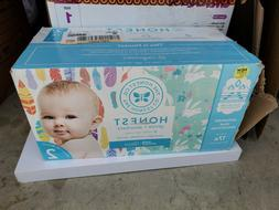 The honest company diapers size 2 gentle 76 count 12-18 poun