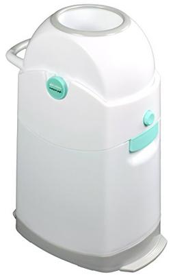 Creative Baby Tidy Diaper Pail, Pearl, Pearl/Blue/White/Gray