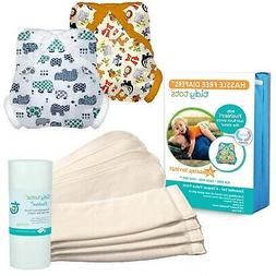 Tidy Tots Diaper Hassle-Free Cloth Diapers & Covers One-Size