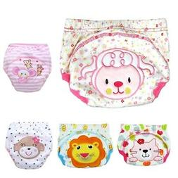 Toddler Baby Potty Training Pants Washable Cotton Leakproof