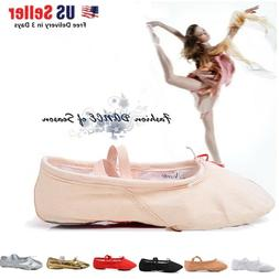 Toddler Girl & Adult  Ballet Dance Split-Sole Fashion # 1 Ca