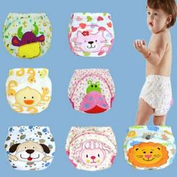 Toddler Nappy Potty Training Pants Baby Kid Reusable Cotton