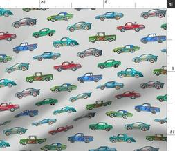 Toy Cars Toys Baby Boys Colorful Watercolor Fabric Printed b