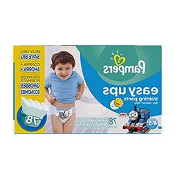 Pampers Easy Ups Training Pants Boys Size 7 , 78 ea