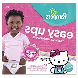 Pampers Easy Ups Training Underwear for Girl 4T-5T - 60 Coun