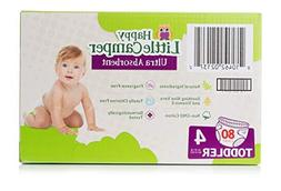 Happy Little Camper Ultra Absorbent Premium Natural Diapers,