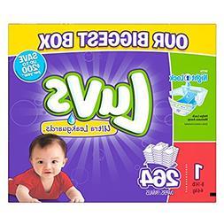 Luvs Diapers sz 1, 264 ct