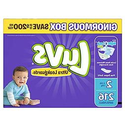 Luvs Ultra Leakguards Diapers, Size 2, 216 Count by Luvs