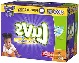 Luvs Ultra Leakguards Diapers,Size 3,148 Count