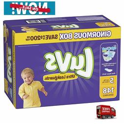 Luvs Ultra Leakguards Disposable Baby Diapers, Size 5,148Cou