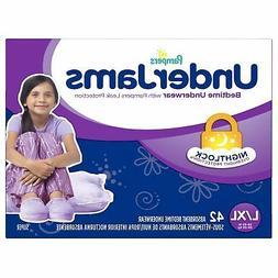 Pampers UnderJams Disposable Bedtime Underwear for Girls Siz