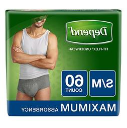 Men Underwear Flex Fit Disposable Diapers Brief Like Absorbe