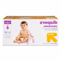 Up&Up Bulk Plus Pack Diapers, Size 4  172 count