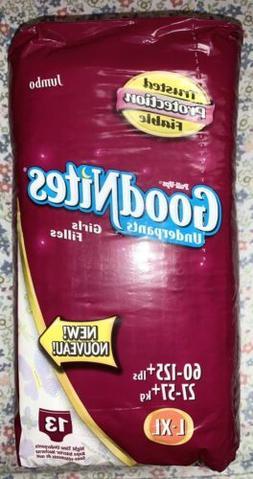 Vintage 2002 2005 Huggies GoodNites Youth Girls Pull-Ups Und