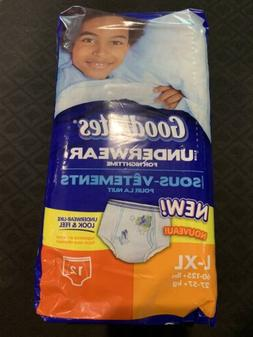 Vintage Goodnites Diapers Boys Pull Ups Full Pack 12ct From