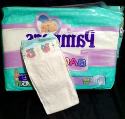 Vintage Pampers Baby-Dry Diaper Size 6 XL Europe Import *Rar