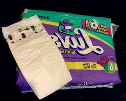 Vintage Luvs Brand Plastic Baby Diaper Sz 6 from 1999