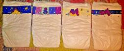 Vintage Full Set 4 Barney Designs Plastic Luvs Diapers couch