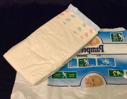 Vintage Pampers Phases Diaper Sz Maxi Plus for Boys Europe I