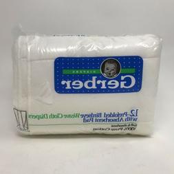 vintage prefolded birdseye weave cloth diapers