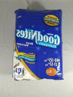 VTG Pull-ups Goodnites 21ct L/XL Night Time Underpants Diape