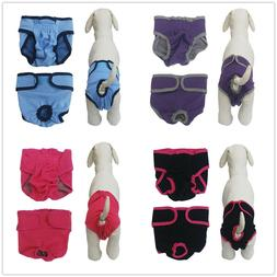 Washable Dog Diaper Pet Potty Pads Training Pants Reusable F