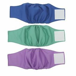 Washable Male Dog Diapers Belly Wrap Pack of 3